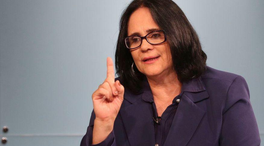 A ministra da Mulher, da Família e dos Direitos Humanos Damares Alves (07.mai.2019)