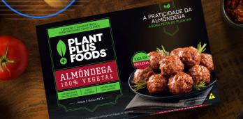 Entre produtos da PlantPlus Foods estão hambúrguer, kibe, almôndega e carne moída à base plantas