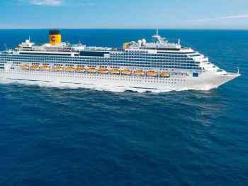 Navio de cruzeiro Costa Fascinosa teve 30 casos e três mortes por COVID-19 a bordo