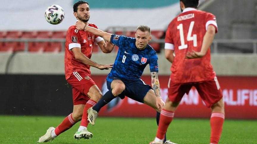 Eliminatórias para a Copa do Mundo - Europa - Grupo H - Eslováquia x Rússia