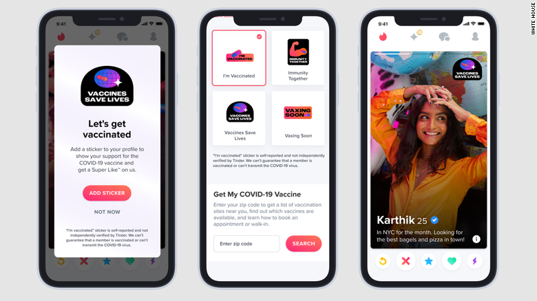 Casa Branca faz parceria com apps de paquera