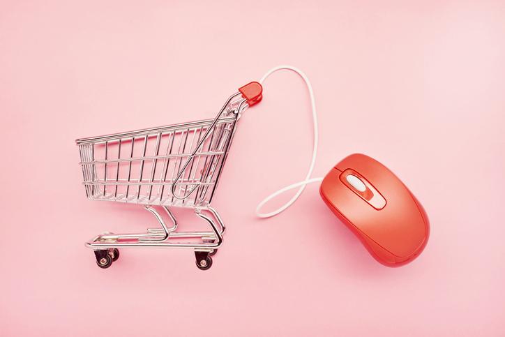 Carrinho de compras; e-commerce