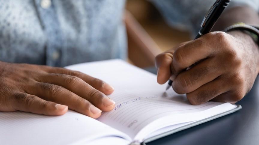 Escrever pode ser uma alternativa de preparar-se antes de iniciar um diálogo com seu amigo