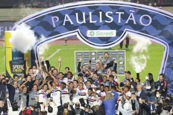 Partida de volta da final do Paulistão aconteceu no estádio do Morumbi, contra o Palmeiras, neste domingo (23)