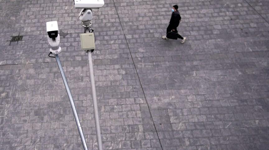Mais de 20 bilhões de câmeras foram instaladas em toda a China desde 2017, segundo a emissora estatal CCTV