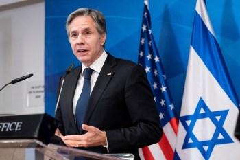 Antony Blinken, porém, deixou claro que os EUA pretendem impedir que o Hamas se beneficie da ajuda humanitária