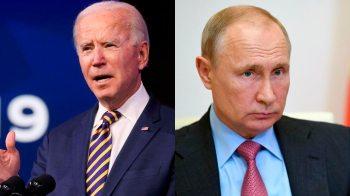 Encontro entre os presidentes Joe Biden e Vladimir Putin acontece durante 'ponto baixo' da relação entre os dois países