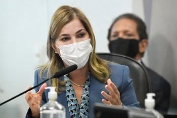 Secretária de Gestão do Trabalho e Educação na Saúde depôs à CPI da Pandemia nesta terça-feira (25)