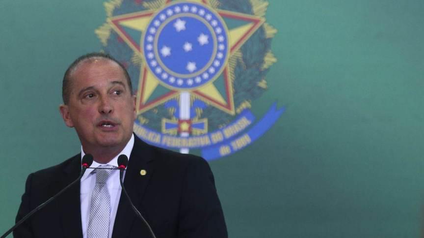 O ministro da Cidadania Onyx Lorenzoni (10.abr.2019)