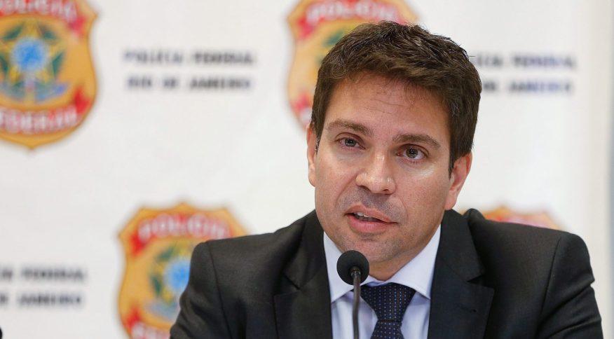 O delegado da Polícia Federal Alexandre Ramagem, indicado do presidente da República Jair Bolsonaro para assumir a direção da instituição