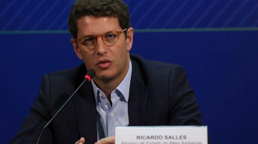 O ministro do Meio Ambiente Ricardo Salles (28.ago.2019)