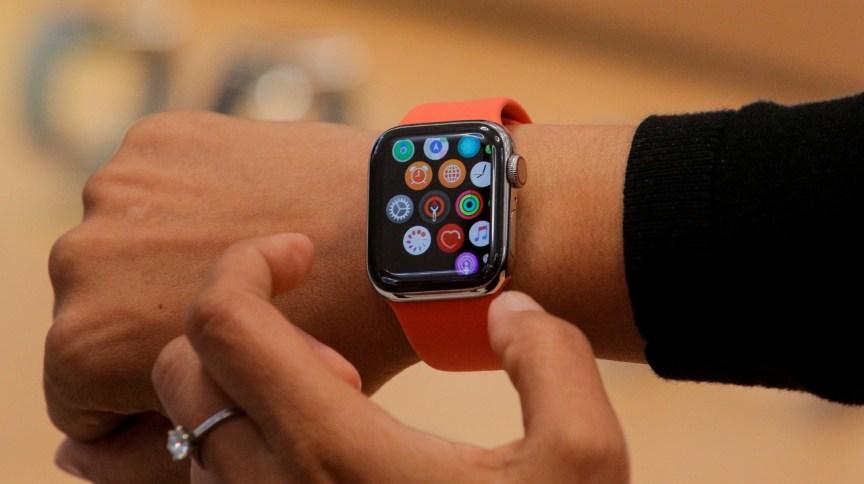 Apple Watch em Nova York 19/9/2019 REUTERS/Brendan McDermid