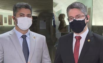 À CNN, Marcos Rogério (DEM-RO) diz que CPI está 'contaminada'; Alessandro Vieira (Cidadania-RS) afirma que eventuais manifestações política 'não prejudicam'