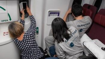 O voo da Supermoon é o mais recente de uma série de voos da Qantas para lugar nenhum, que começou em outubro