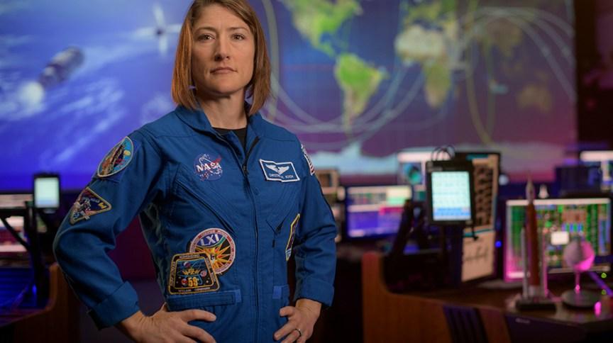 A astronauta da Nasa, Christina Koch, pode ser a primeira mulher a pisar na lua