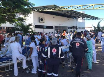 Cinquenta pacientes estavam internados na unidade