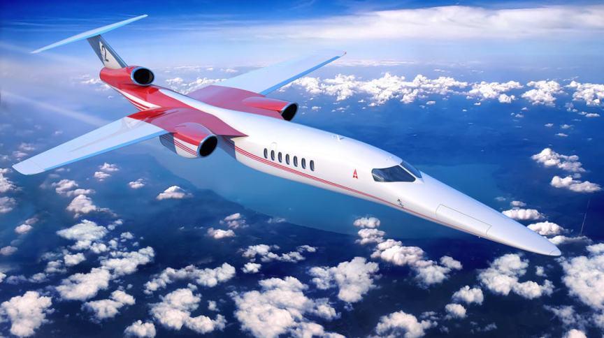 A Aerion está desenvolvendo o AS2, um jato executivo para 8 a 12 passageiros, capaz de voar a 1.600 km / h
