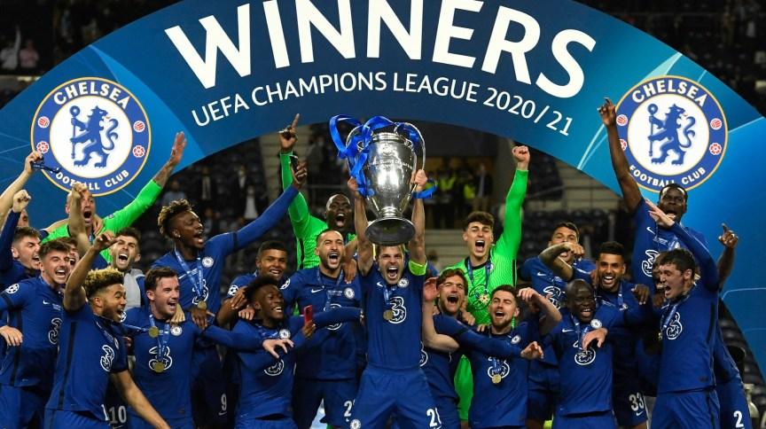 Chelsea levou a Liga dos Campeões pela segunda vez em sua história