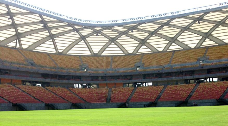 Arena da Amazônia, em Manaus, terá público em partida da seleção