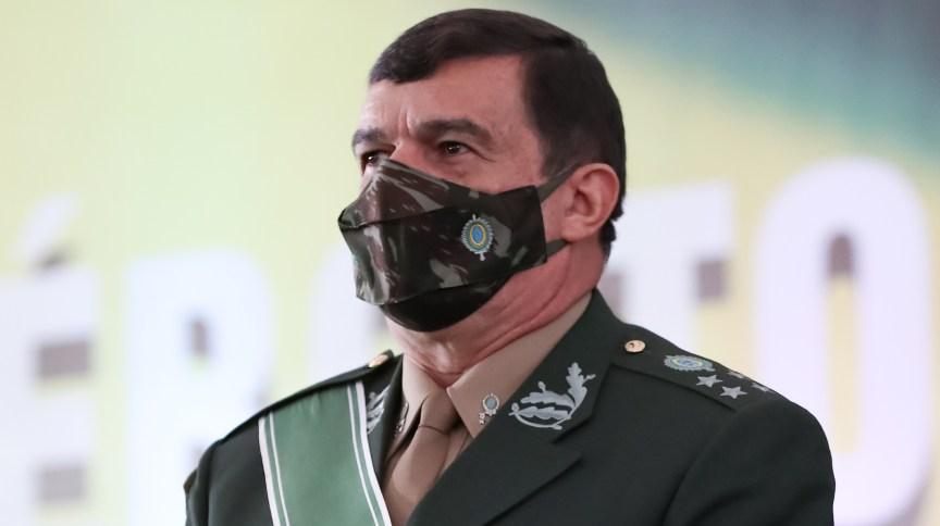 O comandante do Exército, general Paulo Sérgio Nogueira