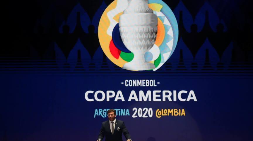 Cerimônia da Conmebol sobre a Copa América