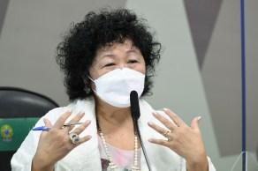 Médica entregou à CPI da Pandemia uma ata notarial com o registro de uma troca de mensagens pelo aplicativo WhatsApp