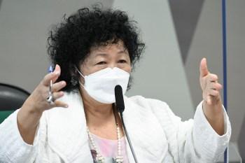 Convidada a prestar esclarecimentos à CPI da Pandemia, médica falou por mais de 6 horas; em 1h30 ela foi interrompida mais de 40 vezes