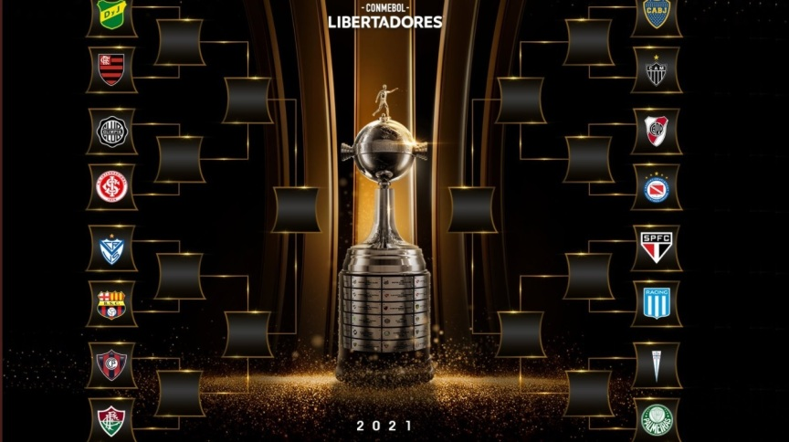 Conmebol definiu os confrontos das oitavas de final da Libertadores