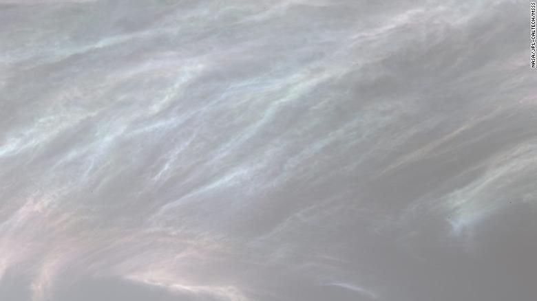 Nuvens iridescentes na atmosfera de Marte registradas pelo rover Curiosity