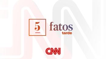 5 Fatos Tarde repercute principais notícias do Brasil e do mundo