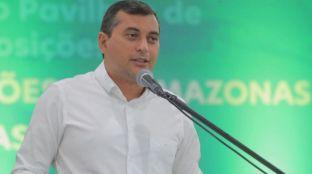 Governador do Amazonas, Wilson Lima (2 de junho de 2021)