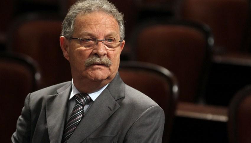 O deputado estadual Coronel Jairo: de volta à Alerj