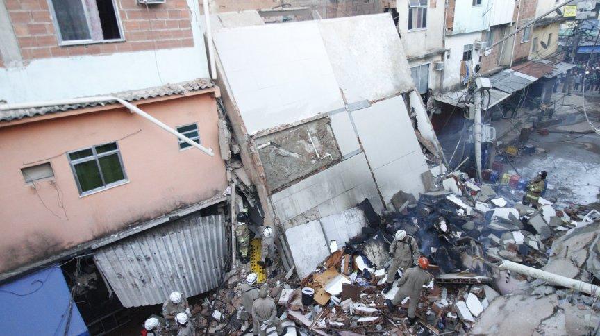 Desabamento deixou 85 pessoas desalojadas na capital fluminense