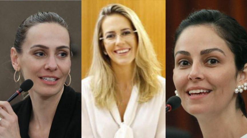 Ângela Cignachi Baeta Neves (à esq.), Maria Claudia Bucchianeri Pinheiro (centro) e Marilda Silveira (à diret.) estão na lista tríplice ao TSE