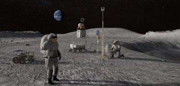 Com objetivo de pousar no polo sul lunar até 2024, programa também colocará a primeira mulher no satélite natural da Terra