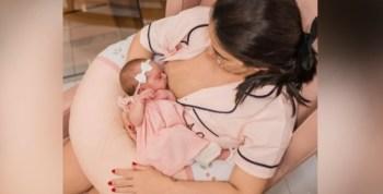 Mãe havia recebido duas doses da vacina Coronavac no sétimo mês de gestação