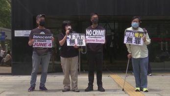 Autoridades citaram o coronavírus como motivo para o cancelamento; manifestantes reclamaram da falta de liberdade