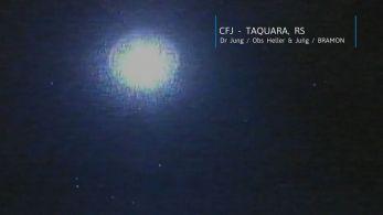 Análises iniciais estimam que o meteoro tinha aproximadamente 25 centímetros e pesava 33 quilos