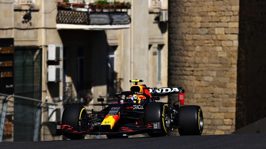 Sergio Pérez, da Red Bull, foi o mais rápido nos treinos livres para o GP de F1 no Azerbaijão