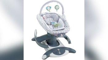 Dois modelos foram retirados do mercado após bebês, sem supervisão de adultos, ficarem de bruços em cadeirinhas de balanço