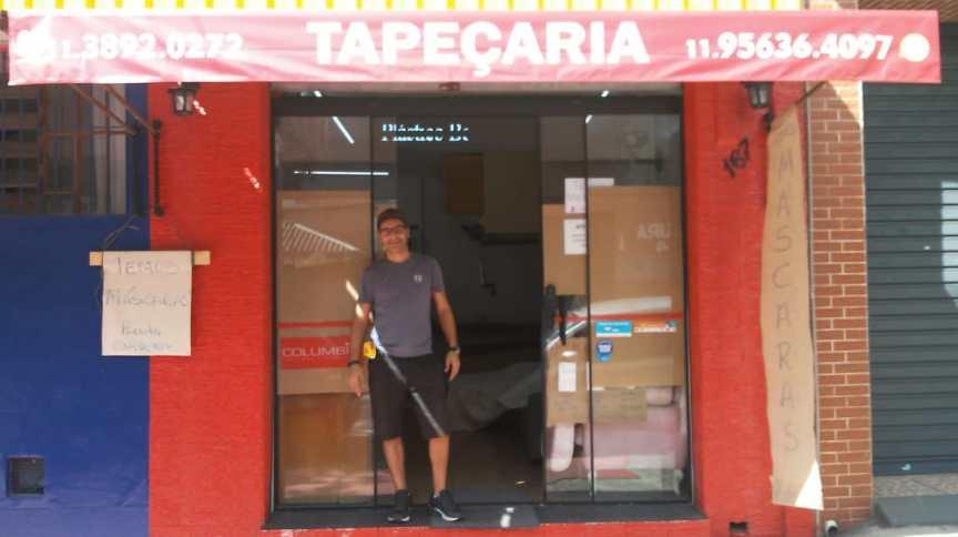 Sem ajuda: Leandro Martins viu a receita de sua loja despencar de R$ 50 mil para menos de R$ 5.000 com a crise
