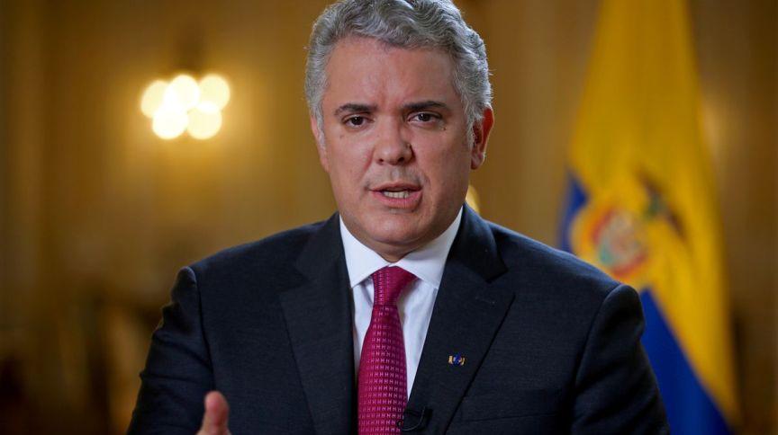 Presidente da Colômbia Ivan Duque fala sobre mudanças no policiamento do país