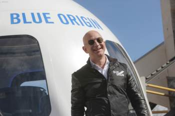 Uma petição online foi criada para pedir que o bilionário fundador da Amazon não volte à Terra
