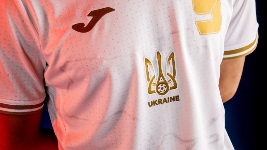 Novo uniforme da seleção da Ucrânia