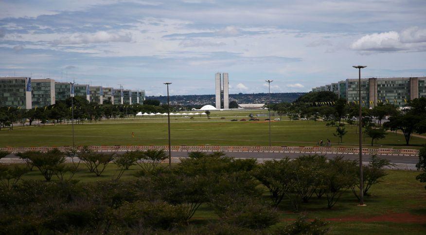 Vista da Esplanada dos Ministérios em Brasília (29.dez.2018)