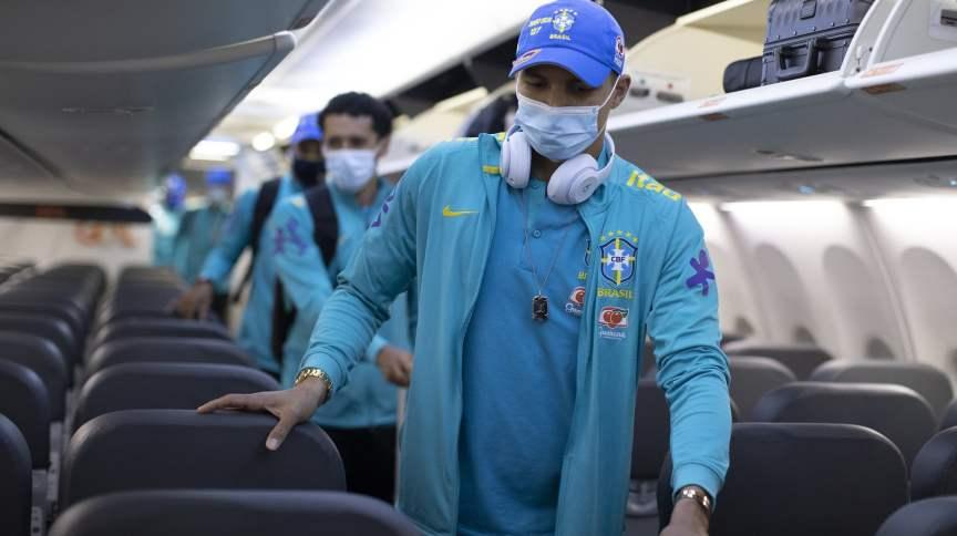 Seleção Brasileira viaja ao Paraguai para jogo válido pelas eliminatórias da Copa do Mundo de 2022