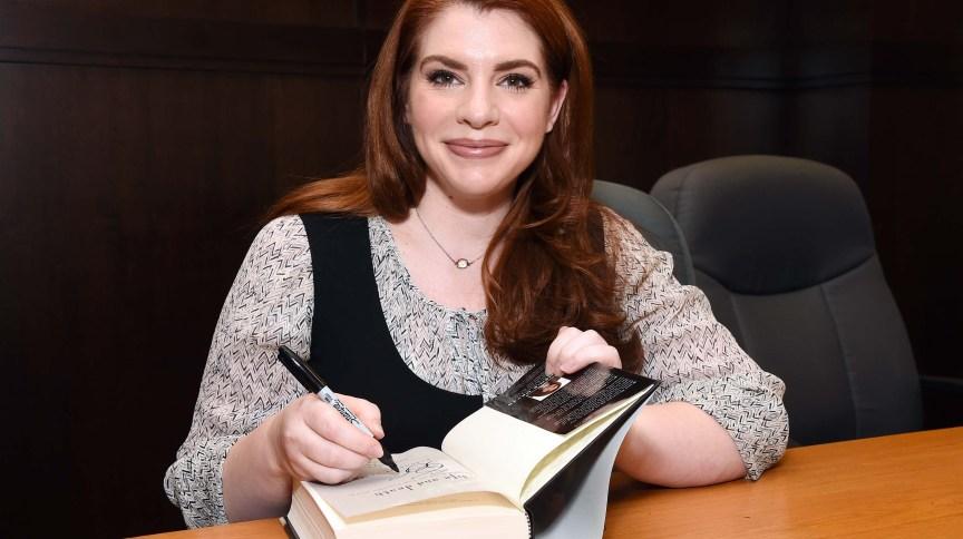 """A escritora Stephenie Meyer, autora da saga """"Crepúsculo"""""""