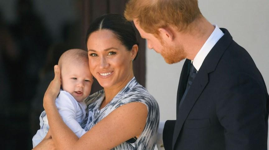 Meghan Markle, Príncipe Harry e o primeiro filho do casal, Archie