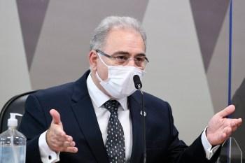 Ministro da Saúde voltou a prestar depoimento à CPI da Pandemia nesta terça-feira (8)