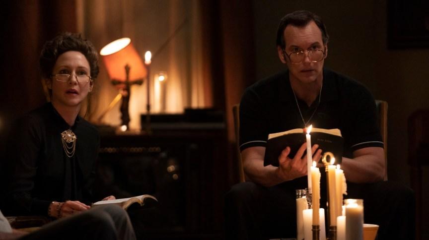 """Vera Farmiga e Patrick Wilson interpretam Lorraine e Ed Warren em """"Invocação do Mal 3: A Ordem do Demônio"""""""